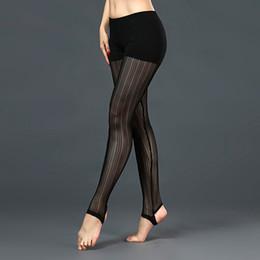 accessori sexy per le donne piedi Sconti Banda nera modale maglia danza del ventre vestiti legging per le donne / femminile sexy pantaloni del piede collant pratica danza accessori KZ009