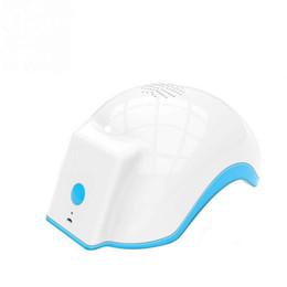 Laser cabelo crescimento terapia on-line-Terapia a laser Hair Care Capacete Dispositivo de Tratamento A Laser Massageador Anti Perda de Cabelo Terapia Do Cabelo Cuidados Novo
