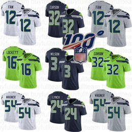 marshawn lynch jersey xxl Desconto Mens 3 Russell Wilson 24 Marshawn Lynch 16 Tyler Lockett 12 Fan 54 Bobby Wagner Seattle 32 Chris Carson Seahawk Jerseys