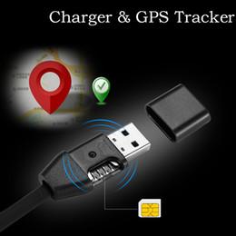 mercedes radio navigation Rebajas Dispositivo de rastreo del vehículo del vehículo del vehículo del vehículo del dispositivo de seguimiento del cable micro USB Cable GSM / GPRS de seguimiento en tiempo real Cargador USB del dispositivo de seguimiento por GPS