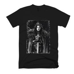 2019 pantalones hombre juego Camiseta para hombre Jon Snow Game Of Thrones para hombre / camiseta pantalones hombre juego baratos