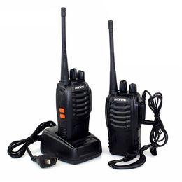 radio baofeng bf 888s Rabatt Baofeng BF-888S Funksprechgerät 5W Funksprechgerät Tragbares CB-Funkgerät UHF 400-470MHz 16CH Comunicador Transmitter Transceiver