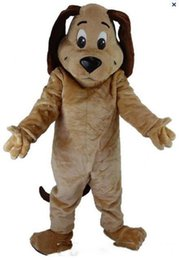 2019 conejito conejo marioneta 2019 Descuento de fábrica Costumes Tipo caliente TAN perro de la mascota Traje animal CABEZA envío libre