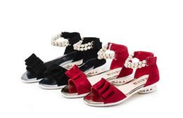 chaussures à perles Promotion Sandales à la mode pour filles, perles enfants, chaussures enfants, chaussures de designer, sandales enfants chaussures enfants danse sandales compensées pour enfants A5055