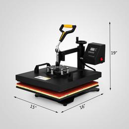 jigging-maschinen Rabatt 5IN1 30x38cm Hitze-Presse wegschwenken Hitze-Presse-Maschinen Digitale