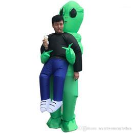 por Aliens Cosply Costumes Designer Sólidos Trajes Cor Vestuário Masculino Mascote Halloween Unisex Kidnapped de