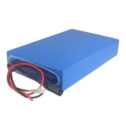 bateria de polímero de lítio de alta capacidade Desconto Frete grátis AU UE EUA recarregável 52 v 30ah bateria de polímero de lítio de alta capacidade para 300 W a 2000 W de potência com 3A carregador