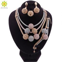 2019 дубай кольцо Fashion dubai gold jewelry nigerian  necklace jewelry set for womem african wedding necklace earrings ring дешево дубай кольцо