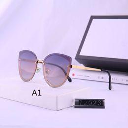 2019 óculos transparentes oversized atacado Mulheres designer óculos de marca óculos de sol de Verão Womens Goggle Óculos UV400 10 cores opcionais Altamente qualidade