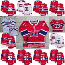 drouin jersey Desconto 15 Jesperi Kotkaniemi Montreal Canadiens Max Domi Tomas Tatar Phillip Danault Jonathan Drouin Brendan Gallagher Jeff Petry Shea Weber Jersey