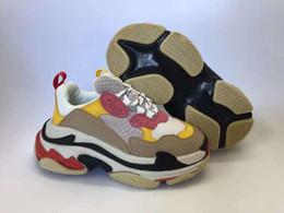 Argentina (Caja) Niños Zapatillas de deporte triples para niños Zapatos de diseño Plataforma para niñas Deportes para niños Niños Chaussures Adolescente Suela gruesa Zapatos al aire libre para jóvenes Suministro