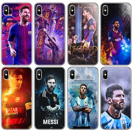 0b9be33eb0 Football Star Cell Phone Case Multiple Transparent For Iphone Xr 6 7 8 X  Plus Xs Max Celebration Festival Silicone Soft Phone Cases