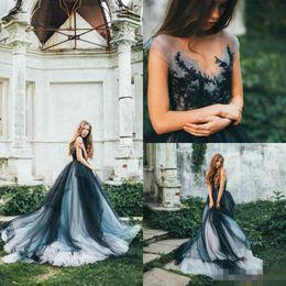 Royal Blue Nude Wedding Dresses Images