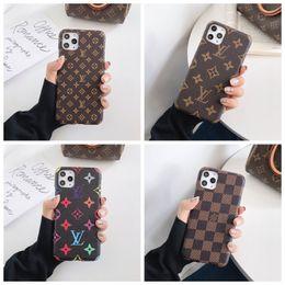 2019 étui de téléphone diy galaxy Top Designer pour iPhone 11 Pro Max XS XR X 8/7 plus Téléphone couverture arrière de cas de monogramme de marque pour Samsung Galaxy S9 S10 note 9 10 Shell A013