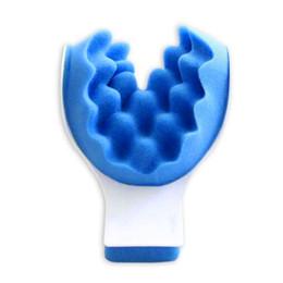 Almohadas para soporte de cuello online-Uso de viaje portátil Cojín para coche Almohada de espuma Siesta de cuello Cojín Mini Soporte para el cuello Masaje Oficina Dormir