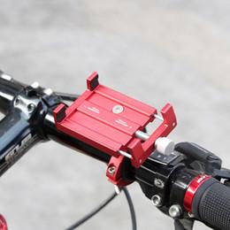 Alüminyum Alaşım Bisiklet Cep Telefonu Tutucu Bisiklet Evrensel Ayarlanabilir Motosiklet Gidon Dağı Kolu Telefon Desteği 3.5-6.2 Için cheap universal cell phone bike holder nereden evrensel cep telefonu bisiklet tutacağı tedarikçiler