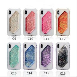 Opciones de telefono online-SAM S10 Funda para teléfono para S10 Lite Opción múltiple Shinny Back Quicksand Funda con estuche para teléfono móvil Star Tpu Phone Protect