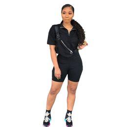 Canada Marque Designer femmes jogger costume t-shirt shorts 2 pièces ensemble survêtement tshirt pantalon court vêtements de sport survêtement vêtements d'été 2555 381 cheap sport clothing shirts Offre