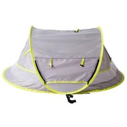 Кровать детские путешествия портативный палатка ребенок пляж УПФ 50+ Солнце приют, палатка ребенок путешествия выскочить москитная сетка и 2 колышки, сверхлегкий Вэй от