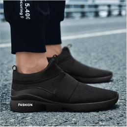 2019 sapatas grandes dos pés 2018 Novos Sapatos Masculinos de Lazer Calçados Esportivos Manga Comprida dos homens Malha Respirável Verão Novo Grande-tamanho Running Sapatos de Lazer Resistente Ao Desgaste e B sapatas grandes dos pés barato