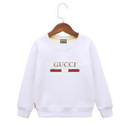 modèle de veste coréenne Promotion Hoodies Girl Pure Cotton Même Minuit Automne Et Printemps Fonds 2019 Nouveau Modèle Lettre Coréenne Poche En Volonté Enfant Easy Jacket