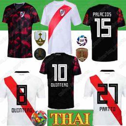 Assiettes en Ligne-Thai 2020 River Plate maison blanche Soccer Jersey River Plate loin rouge G.MARTINEZ QUINTERO Pratto Shirt 19/20 Riverbed Football Uniform Sale