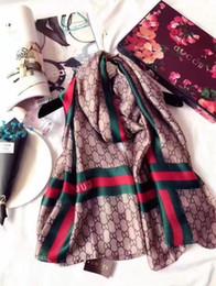 Mode ITALIE Marque 100% Foulards en soie femmes Foulard 90 * 180cm de long en soie designer Cachemire haute qualité écharpes Châle Dames Foulards ? partir de fabricateur