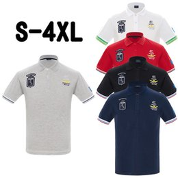 nuove camicie alla moda Sconti La migliore vendita 2019 New Air Force Fashion Racing Polo Tee Uomini Country Flag T Shirt 6XL Disponibile Classic Golf T-Shirt Abbigliamento Trendy