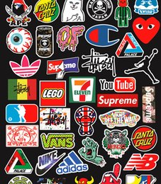 stickers pc Coupons - 100 PCS Set Car Stickers Car Accessories Cool Waterproof Stickers for Suitcase Laptop Bike Motorcycle Helmet Graffiti Stickers TH004