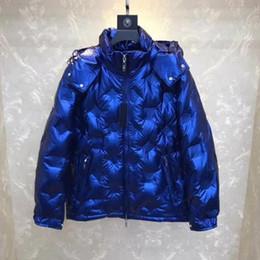 Casacos de impressão floral mens on-line-2020 Hot vendas Super boa qualidade Mens Designer jaquetas quente grossa com capuz Moda impressão Casual Jacket Inverno Down Jacket Europa Tamanho