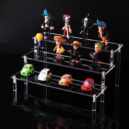 Transparent acrylique cosmétiques rack de stockage détachable personnage de dessin animé échelle titulaire titulaire jouet voiture modèle bourse affichage de parfum ? partir de fabricateur