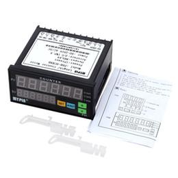 Реле mini онлайн-Digital Counter Mini Length Batch Meter 1 Preset Relay Output Count Meter Practical Length 90-260V AC/DC
