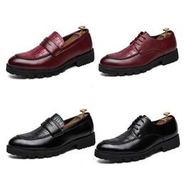 novo estilo vestidos profissionais Desconto Hot-venda de Novos Negócios Sapatos de Couro Profissional Banquete Moda Top Sapatas de Vestido dos homens de Estilo Britânico Sapatos Casuais dos homens