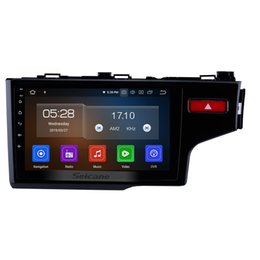 9 pulgadas Android 9.0 Reproductor multimedia con pantalla táctil para el coche 2014-2016 Honda Fit con Bluetooth GPS Soporte de navegación Control remoto DVD del coche desde fabricantes