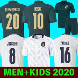 Uomini camicie uv online-terzi italy 2019 2020 Italia calcio Jersey maglia di calcio INSIGNE rinascita CHIELLINI ZANIOLO BONUCCI Bernardeschi BELOTTI IMMOBILE SENSI BARELLA