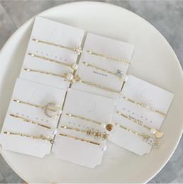 2019 novo estilo venda quente requintado pasta pérola conjunto de combinação de luxo franja styling pin mulheres cabelo bp bobby pin frete grátis WG-0028 de Fornecedores de grosso de caranguejos plásticos