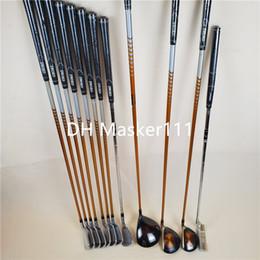 2019 ferrules en bois Clubs de golf New Left Hand KATANA épée Ensemble conducteur 3/5 Fairway Fer Bois Wedges Putter Golf Graphite arbre Livraison gratuite