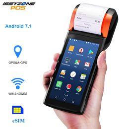 Argentina Sunmi V2 Android PDA Impresora térmica Altavoz 4G WiFi Escáner de cámara 1D / 2D Tarjeta Sim Pago móvil Orden de cola Control Restaurante cheap card scanner android Suministro