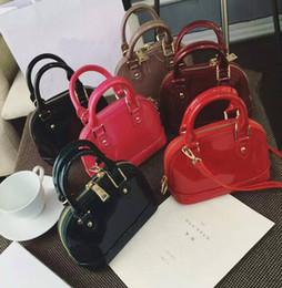 borse da sera classiche Sconti Designer Genuine Leather Data Code Multicolor Shell Bag Borsa da sera Borsa Colourfull Women Classic Zipper Pocket 40301 91606