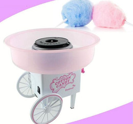 2021 macchine per caramelle di cotone Cotton Mini Corea retro Cotton Candy Machine Carrelli casa elettrico Candy Floss Maker regalo per i bambini
