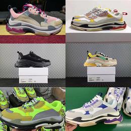 Botas de goma viejas online-2019 Low Old Dad Sneakers Combination Soles Boots Chunky Trainers Rubber Low Top Brand Diseñador de lujo Hombres Zapatos Mujeres Zapatillas deportivas