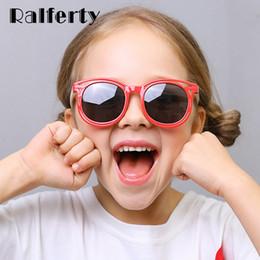bebé gafas de sol infantil Rebajas Ralferty Unbreakable Kids Sunglasses Polarized 2019 Nuevo TR90 Boy Girl Baby Infant Gafas de sol UV400 Gafas para niños K8209