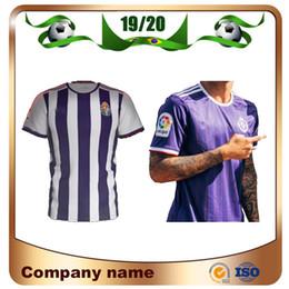 Echte uniform online-2020 Valladolid Trikots 19/20 HOME Real Valladolid Jaime Mata Michel Fußballtrikot Borja Luismi Jaime Auswärtstrikot