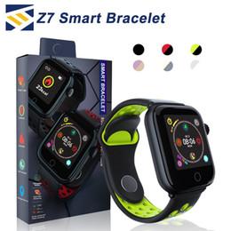 2019 новые часы-шпионы Z7 Smart Watch фитнес-трекер Браслет пульса SmartWatch Монитор IP68 Водонепроницаемый Шаг для яблочных часов PK DZ09 IOS Android смартфон