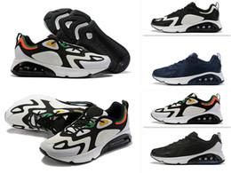 Streetwear sneakers online-2019 Streetwear AIE 200 Laufschuhe Sneaker Herren Trainer Designer Sport Hot Mens Dress Schuhe Herren Air Sneaker 7-12