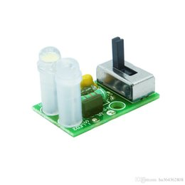 2019 conector impermeable led pin Solar LED light control driver board 5252f Solar LED lawn light QX5252F