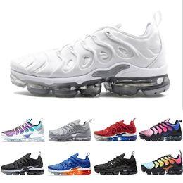 plata menta real Rebajas Nike Air max TN Plus PURE PLATINUM Silver Gradien EE. UU. Mandarina menta Juego de uva Royal Volt Hyper Violet zapatillas deportivas deportivas para hombre 36-45