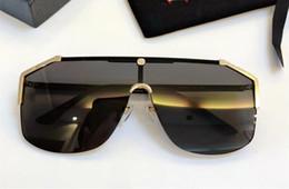 armação de titânio óculos de sol homem Desconto Gucci GG0921 Top luxo K homens de ouro eyewear marca de carro Maybach designer óculos Piloto titanium frame top quantidade ao ar livre uv400 óculos de sol