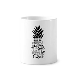 Be a Pineapple Stand Tall Sweet Quote Table Hook Folding Bag Desk Hanger Foldable Holder