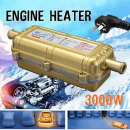 Calentador de aparcamiento webasto online-3000W gas calentador del motor eléctrico de estacionamiento webastos calentador DIESELES Parking aire Precalentador del refrigerante Calefacción